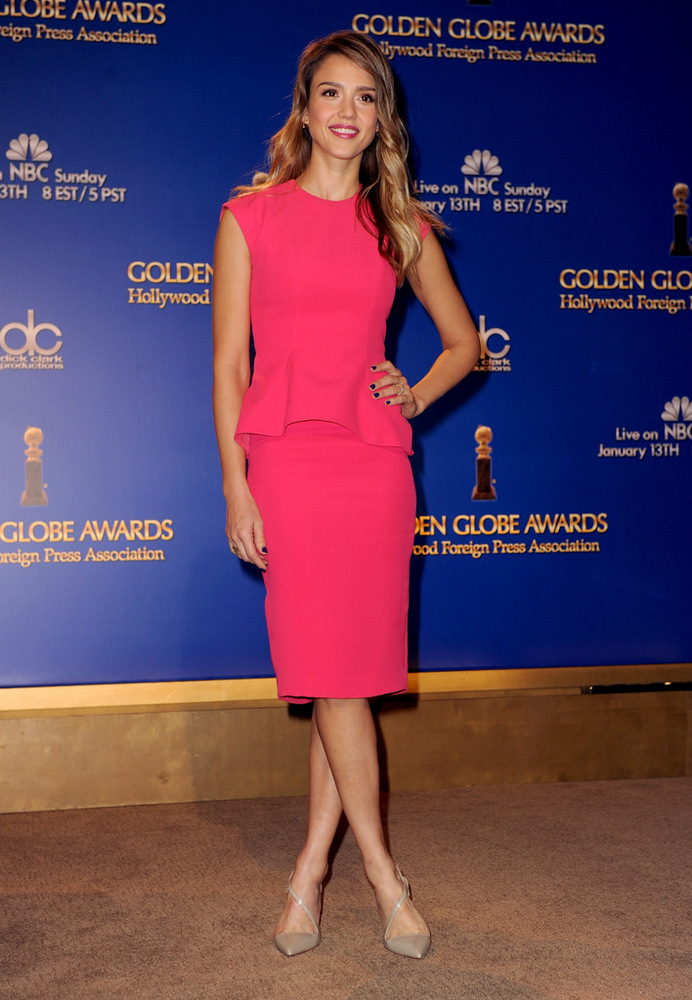 Jessica Alba 70th Annual Golden Globe Awards Nominations in LA 2012-001