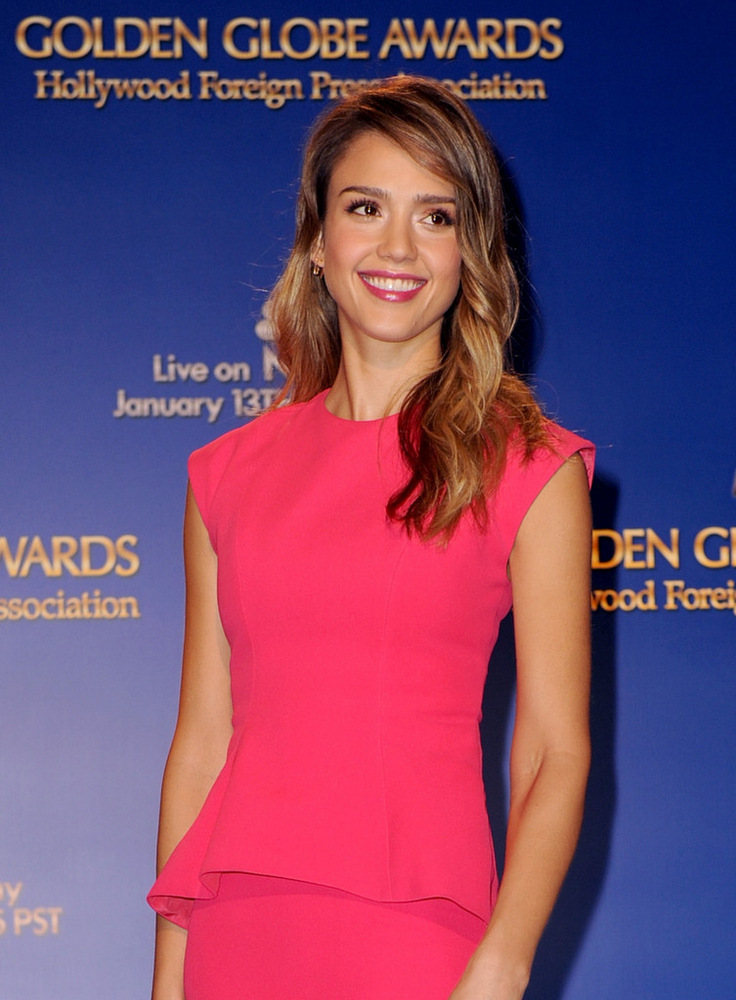 Jessica Alba 70th Annual Golden Globe Awards Nominations in LA 2012-004