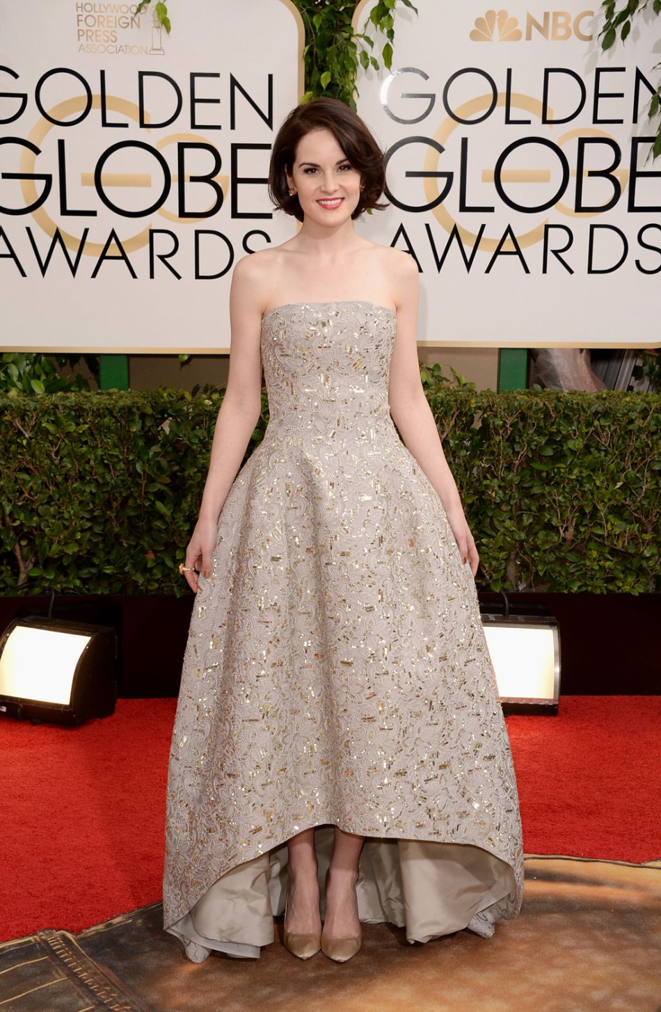 Actress Michelle Dockery