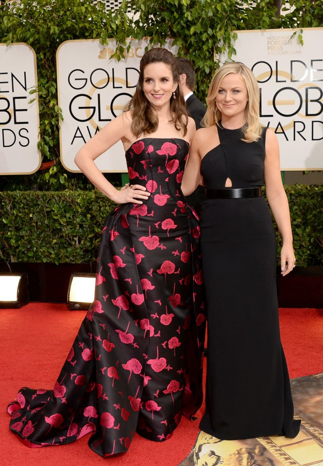 Actresses Tina Fey, left, and Amy Poehler