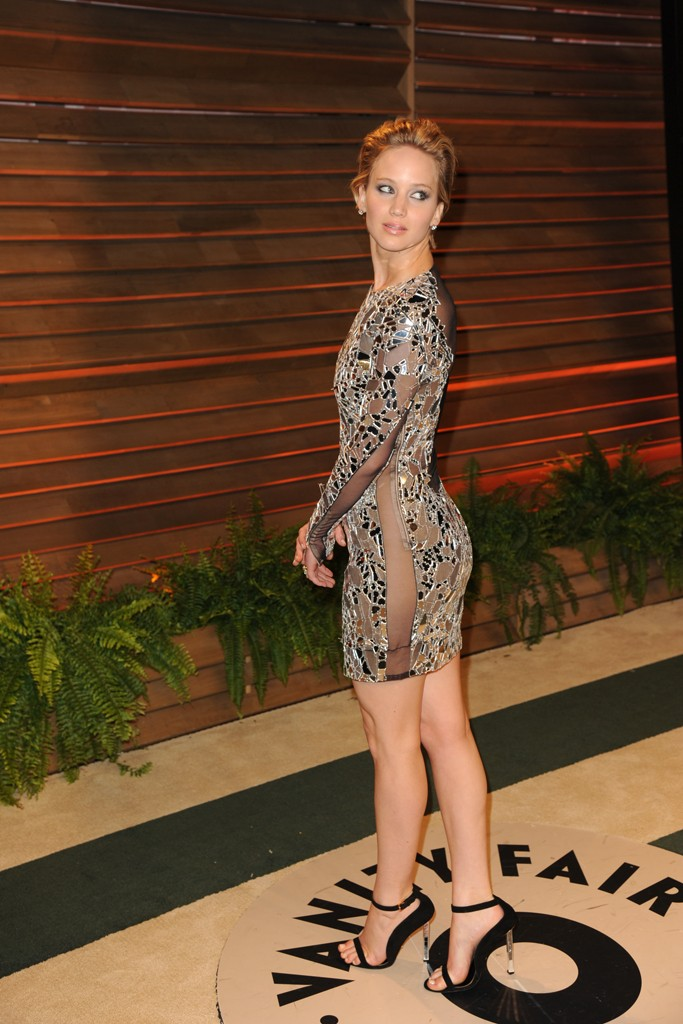 Jennifer Lawrence in Tom Ford.
