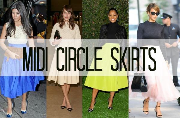 Midi-Circle-Skirts
