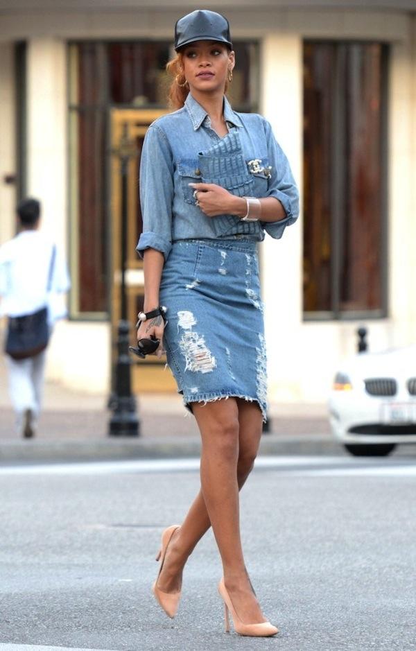 Rihanna-denim-outfit