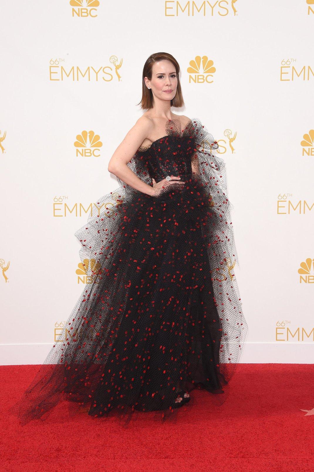 Sarah-Paulson-2014-Emmy-Awards