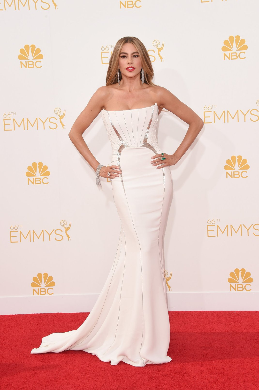 Sofia-Vergara-Cavalli-Dress-Lorraine-Schwartz-Jewellery-2014-Emmy-Awards