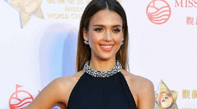 jessica-alba-navy-jewelled-jumpsuit-sosnation.com_1-672x372
