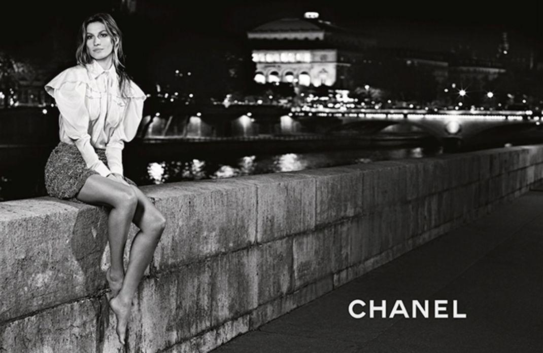 Gisele para o verão 2015 da Chanel