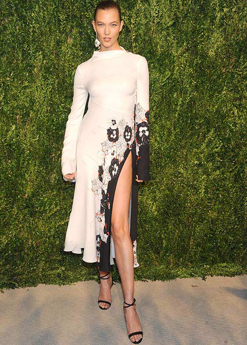Mandatory Credit: Photo by MediaPunch/REX/Shutterstock (7423683al) Karlie Kloss CFDA X Vogue Fashion Fund Dinner, New York, USA - 07 Nov 2016